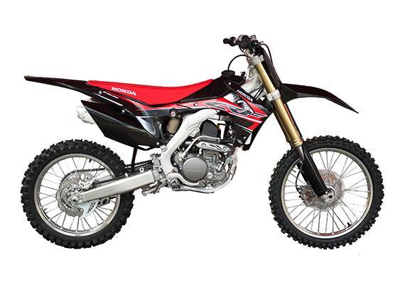 Motocross MC Säljes Honda CRF R BLACK EDITION 450-15 4-takt