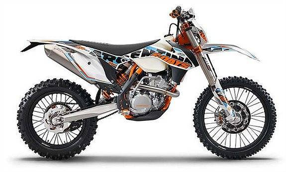 Enduro MC Säljes KTM EXC-F SIX DAYS 350-15 4-takt