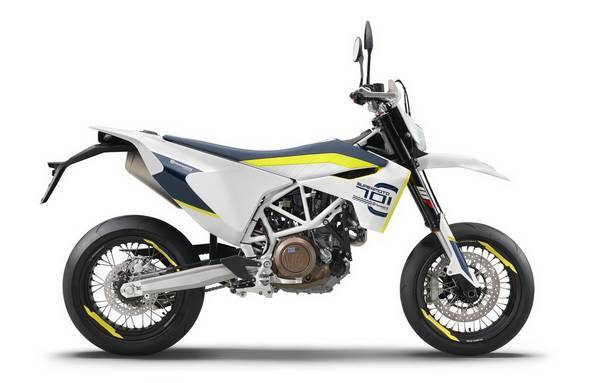 SuperMotard MC Säljes Husqvarna SUPERMOTO 701-19 4-takt