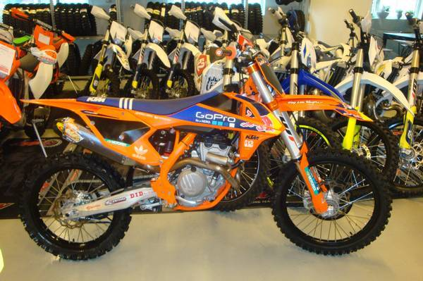 Motocross MC Säljes KTM SX-F Factory edition 250-16 4-takt
